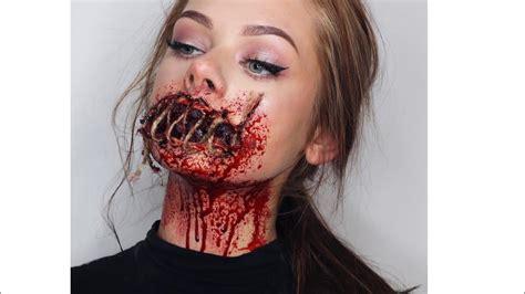 foto de Sewed Shut Mouth Halloween Tutorial (by karolina Maria