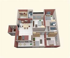 4 bedroom apartment house plans With small house plans 4 bedrooms