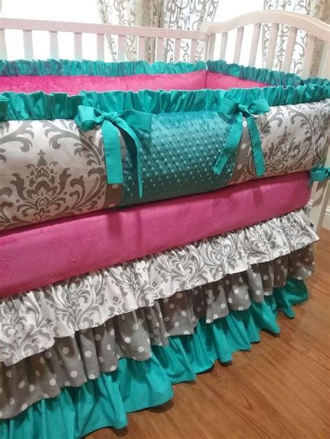Teal And Grey Baby Bedding by 1000 Ideas About Teal Bedding Sets On Teal