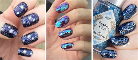 12 Ideas For New Year's Eve Nails Art From Glitter To