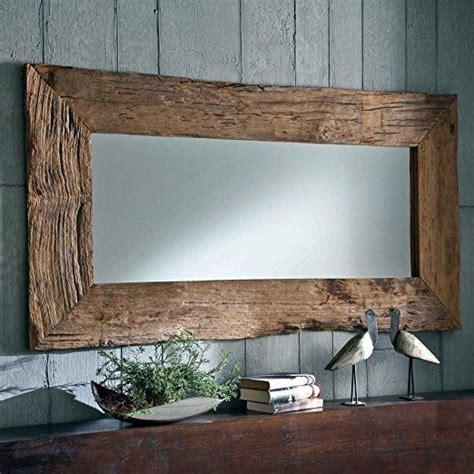 wandspiegel mit rahmen spiegel mit rahmen teak altholz breite 180 cm pharao24 bad spiegel holz altholz und spiegel