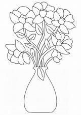 Coloring Flowers Flower Pages Bouquet Printable Print Vase Baskets Adult Sheets Bestcoloringpagesforkids Tulip Lily Bouquets Floral Basket Parentune Embroidery Books sketch template