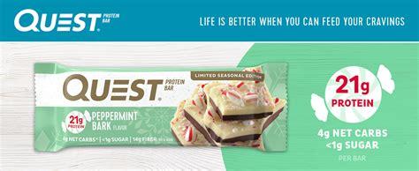 Amazon.com: Quest Nutrition Protein Bar, Peppermint Bark