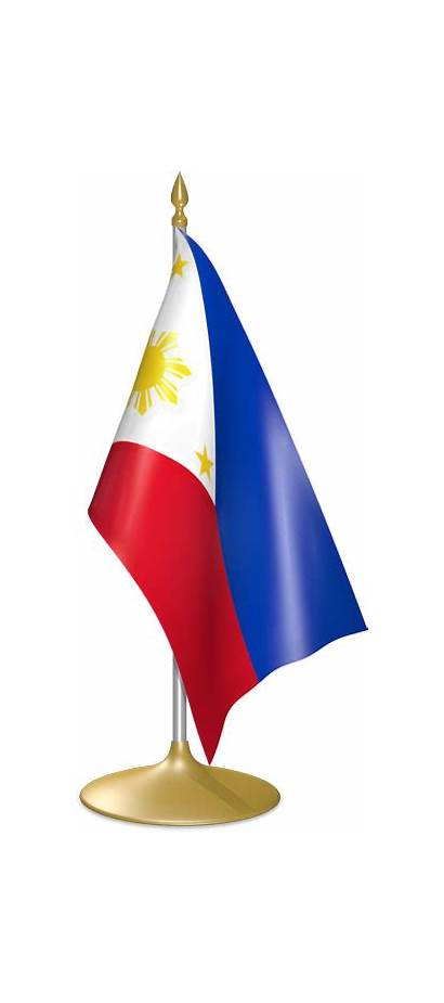 Flag Philippines Philippine Table Clip Stand Clipart