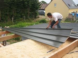 Bac Acier Anti Condensation : isolation sous toiture avec des copeaux de bois photo de ~ Dailycaller-alerts.com Idées de Décoration