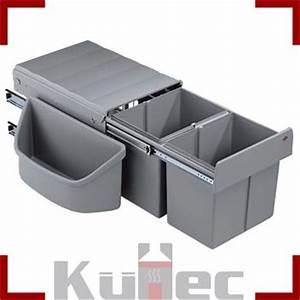 Einbau Mülleimer Küche : abfalleimer 2 x 16 l wesco einbau m lleimer 32 l eckschr nke vollauszug k che ebay ~ Orissabook.com Haus und Dekorationen