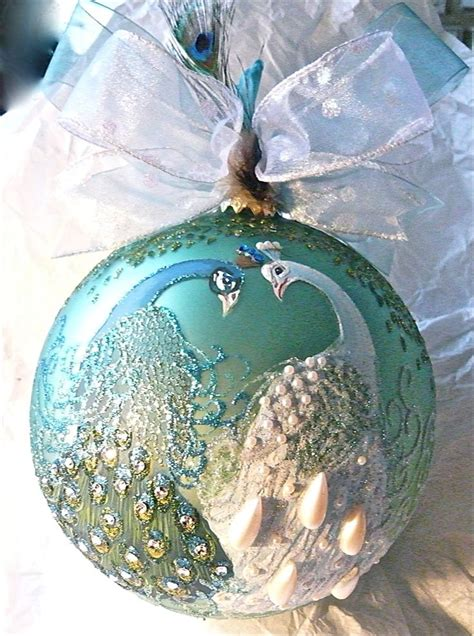 peacock hand painted ornament peacock vases and peacock