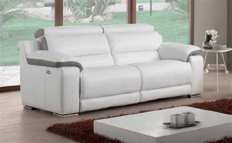 canapé de relaxation electrique canapé 3 places relaxation électrique murano