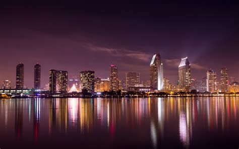 san diego skyline hd world  wallpapers images