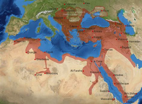 Ottoman Empire 16-17th Century-fr.svg