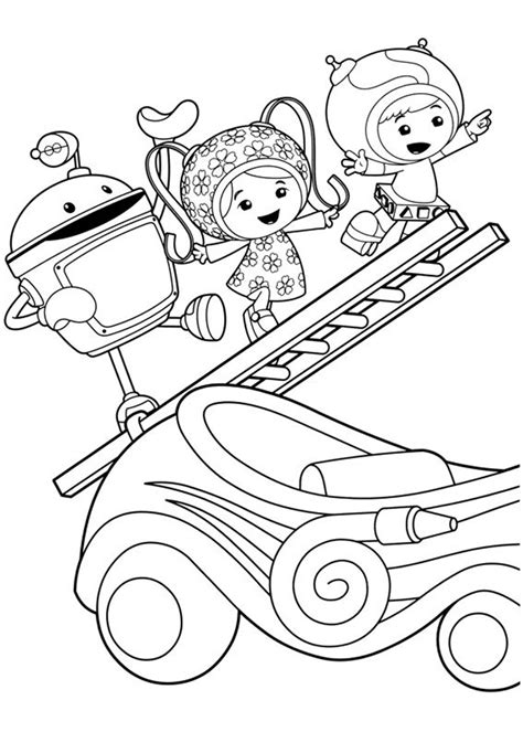 printable team umizoomi coloring pages  kids