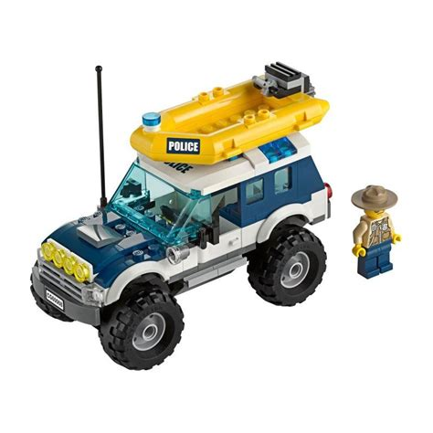 police jeep instructions 60068 robber sw hideout sets city