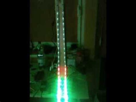 arduino vu meter rgb stripe