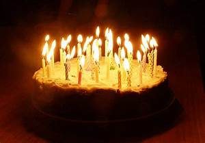 Wonderful Birthday Cake with Lit Candles | Best Birthday Cakes