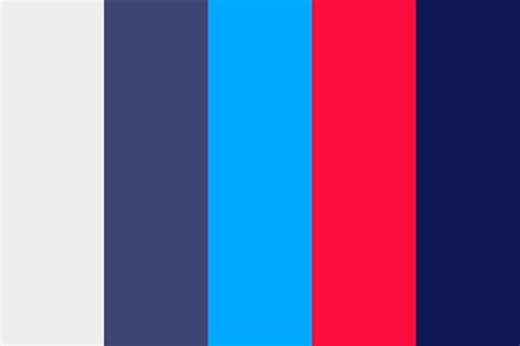 three colors three colors with shades color palette