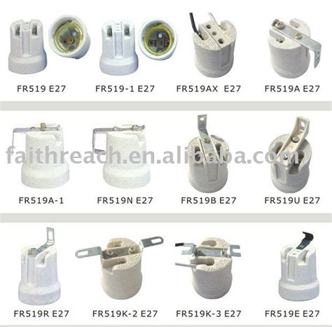 Porcelain L Socket E27 by Ce Approved Edison Porcelain L Socket E27 View