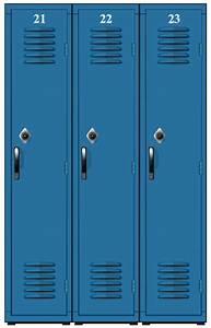School Lockers School Lockers Cardboard Cutout Standup Prop Dino Rentos