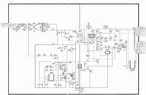 Sharp Lc24le150m  U2013 Led Backlight Tv  U2013 Smps Schematic