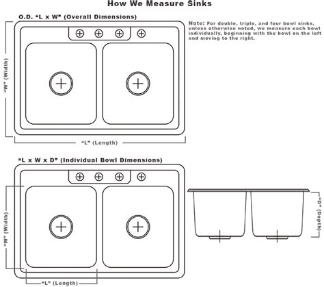 how to measure depth of kitchen sink sinks for boats trailers rv 39 s small compact sinks