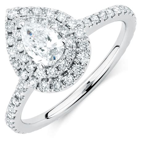 wedding rings michael hill sir michael hill designer grandarpeggio engagement ring with 1 21 carat tw of diamonds in 14ct