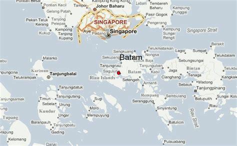 batam indonesia map