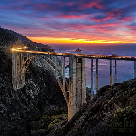 Bridge Bid Bixby Bridge Sunset I Had A Brief Opportunity To Visit