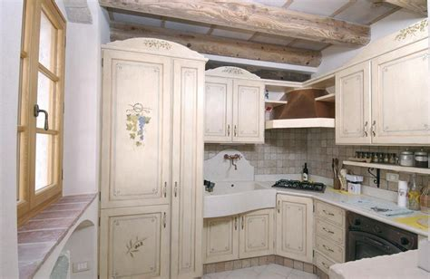 Francesi Arredamento Cucina Provenzale Mobili Pareti E Pavimenti Kitchen I
