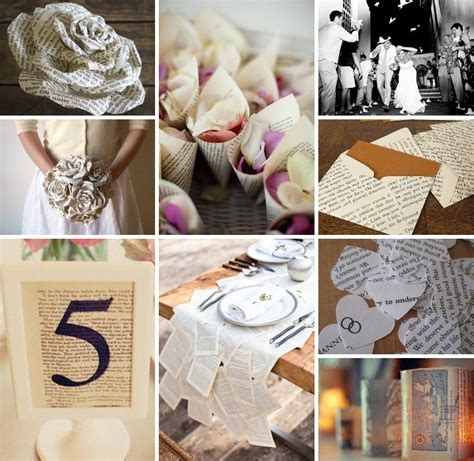 Decorating Ideas Using Books by Storybook Wedding Inspiration Creative Ideas On Using