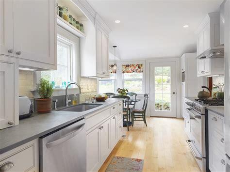 kitchen elegant galley kitchen remodels   modern