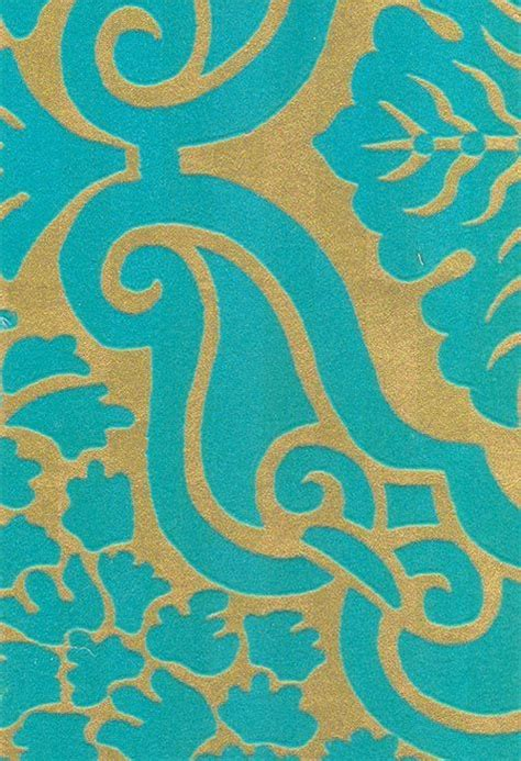 aqua  gold wallpaper wallpapersafari