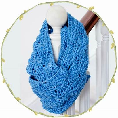Crochet Scarf Pattern Infinity Chunky Hopeful Honey
