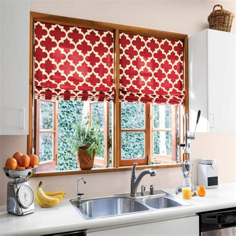 kitchen curtains ideas modern kitchen red kitchen curtains interior design with white countertop design and stainless faucet