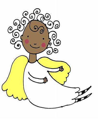 Angels Angel Clip Clipart African American Christmas