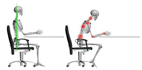 position de la chaise conseils sur la posture au travail ostéopathe val de fontenay