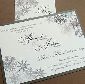 lacy snowflake winter wedding invitations december With vistaprint snowflake wedding invitations