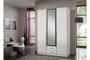 Armoire Lingere Pas Cher : armoire 3 portes blanche pas cher 135 cm cbc meubles ~ Teatrodelosmanantiales.com Idées de Décoration