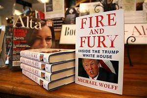 'Fire and Fury' Trump Book Running Out at Libraries, Too ...