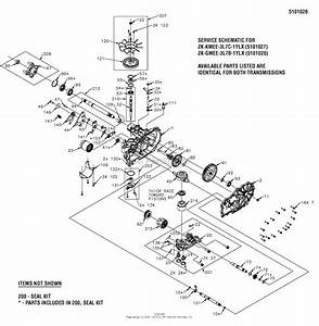 Simplicity 5900662   50 U0026quot  Mower  Zt3000b2450  Parts Diagram For Transmission