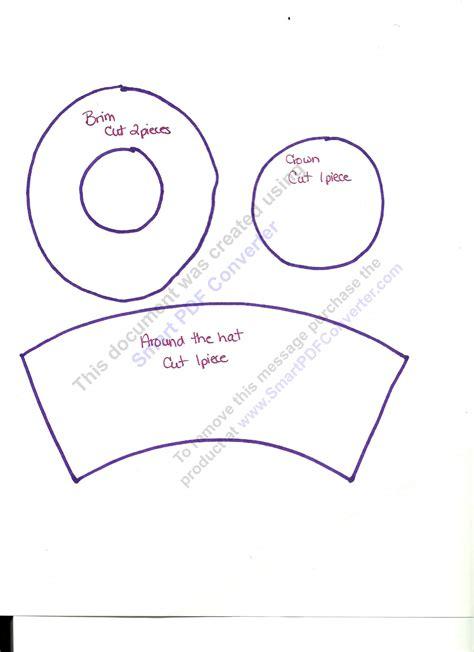 top hat template mini top hat tutorial the ribbon retreat