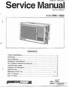Matsushita Room Air Conditioner Parts