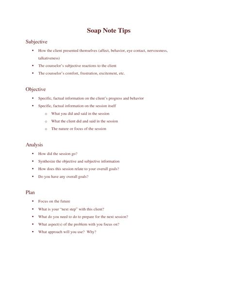 soap notes mental health template soap note templates in this soap note and progress note kit available the counseling