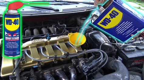 Can You Use WD-40 as ENGINE OIL? - YouTube