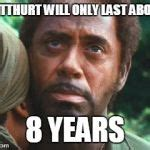 Tropic Thunder Meme - rdj tropic thunder meme generator imgflip