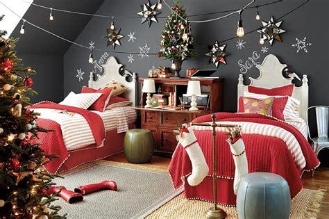 Add Christmas Cheer Effect With Bedroom Christmas