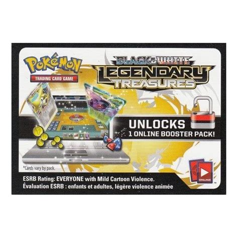 Check spelling or type a new query. Pokemon Code Card (Legendary Treasures) for Online Play ...