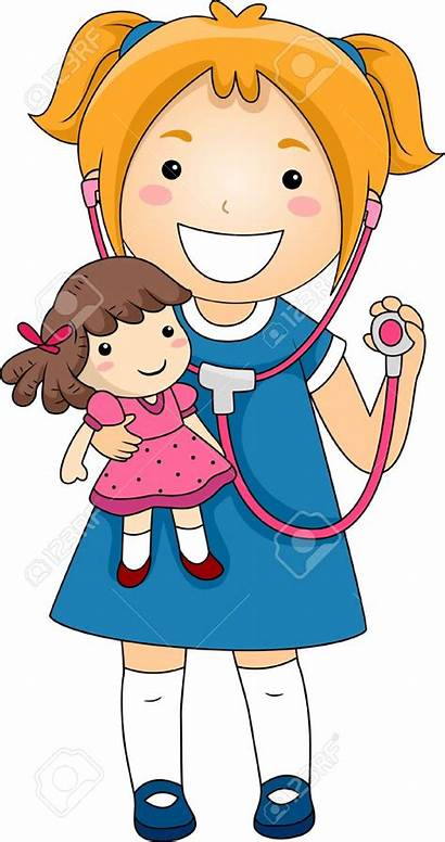 Doctor Clipart Sick Clip Doll Child Clipartmag