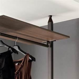 Etagere Sans Vis : dressing avec fixation au plafond byron arredaclick ~ Premium-room.com Idées de Décoration