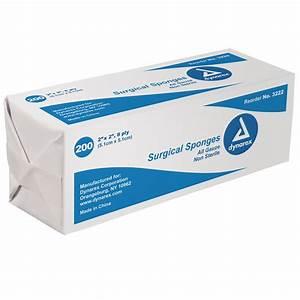Surgical Gauze Sponges Non-Sterile