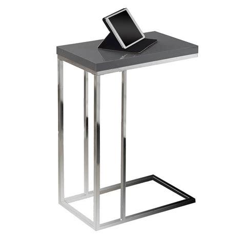 savannah gray modern accent table eurway modern