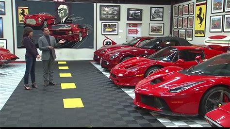 Secret Ferrari Garage Youtube